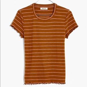 Madewell Baby Tee in Milstead Stripe